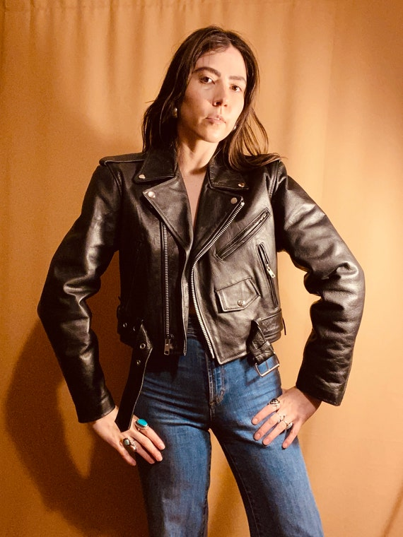 Time Rider Leather Moto Jacket | vintage motorcycl