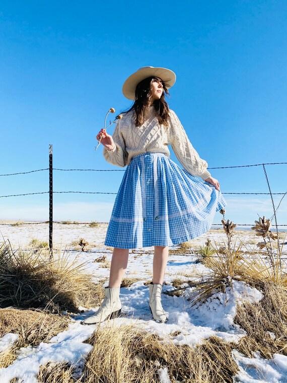 Round and Round Prairie Skirt