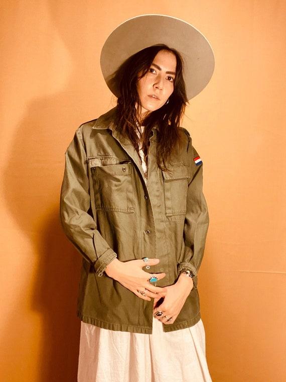 Olive Army Jacket | vintage army jacket
