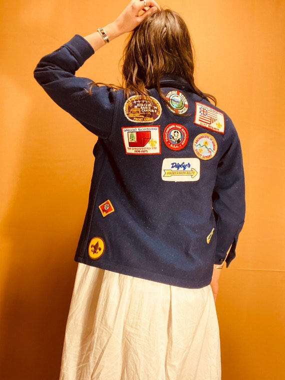 Scouts Honor Patch Jacket | vintage Boy Scout jack