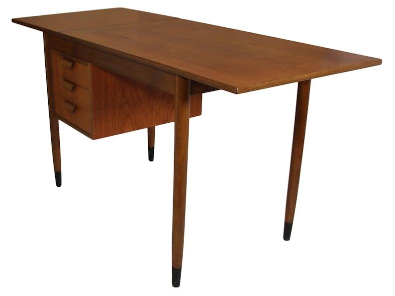 Fold Down Teak Desk