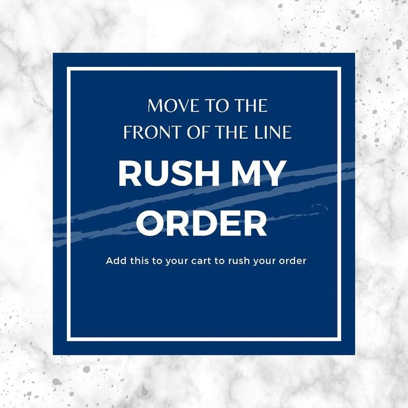 Rush/ Expedite my Shelf Order image 0
