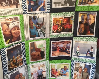 Memory/Picture/Photo Quilt- support childhood cancer research!:)