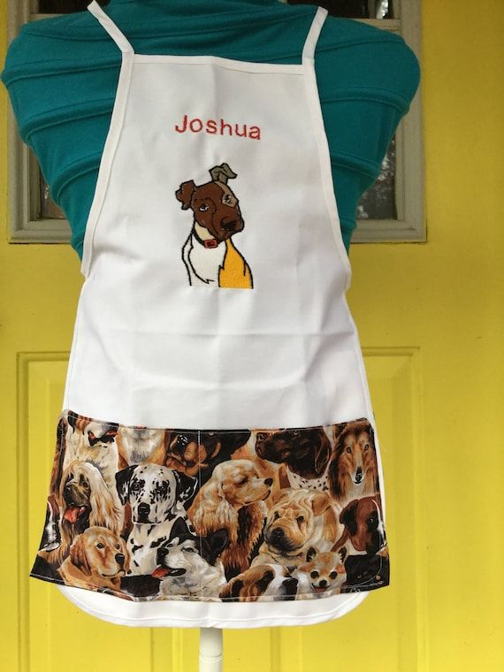 9ad640bf81c Personalized kids apron any theme color or design