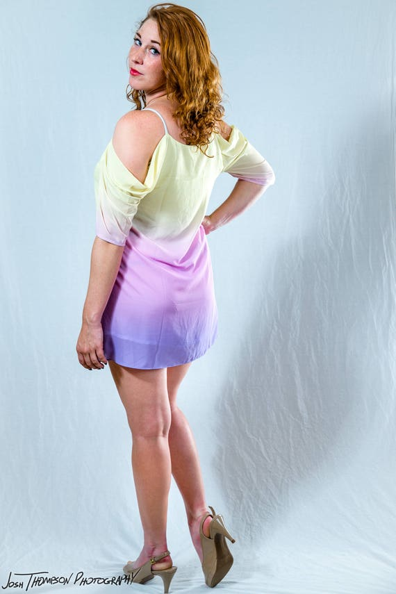 PREORDER Padme Rainbow Lake Dress Queen Amidala Costume Cosplay XS-3XL Wars Star