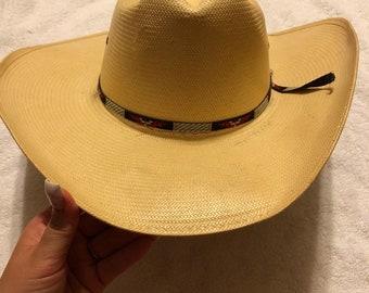 e6bc4f5ecf2b7 Stetson Straw Cowboy Hat