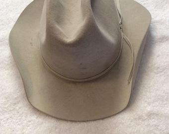 Vintage Resistol 5X Beaver Cowboy Hat d25da566cfc