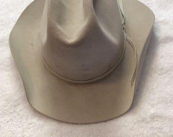 d1b9f9b6344 Vintage Resistol 5X Beaver Cowboy Hat
