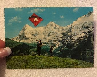 1968 Swiss Post Card