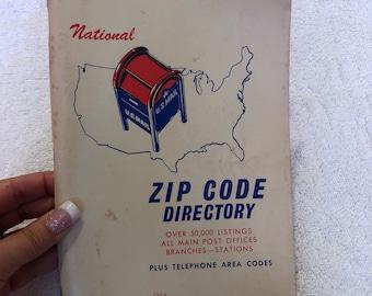 1968 National Zip Code Directory