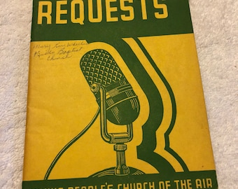 Radio Requests No.2 Songbook