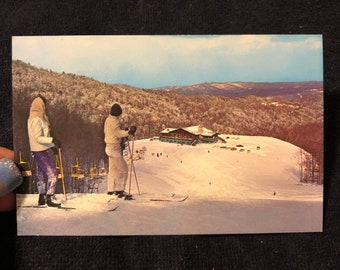 Gatlinburg Ski Resort Postcard