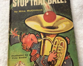 Stop That Ball Vintage Book