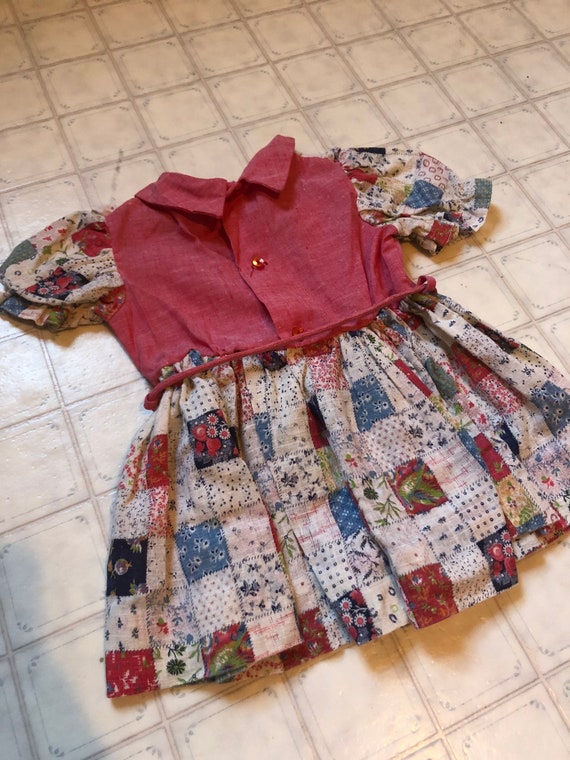 Patchwork Dress - image 3