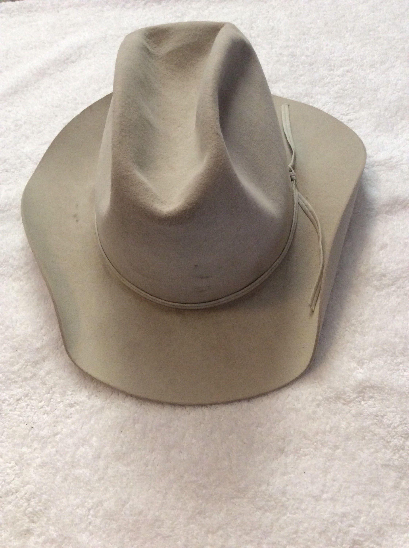 Vintage Resistol 5X Beaver Cowboy Hat  a996c5c8789
