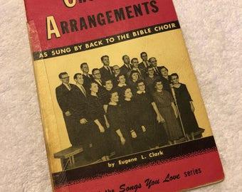 1958 Choir Arrangements Hymnal