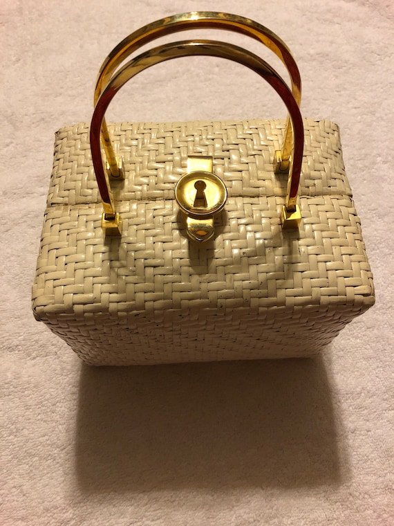 Koret Wicker Basket Purse