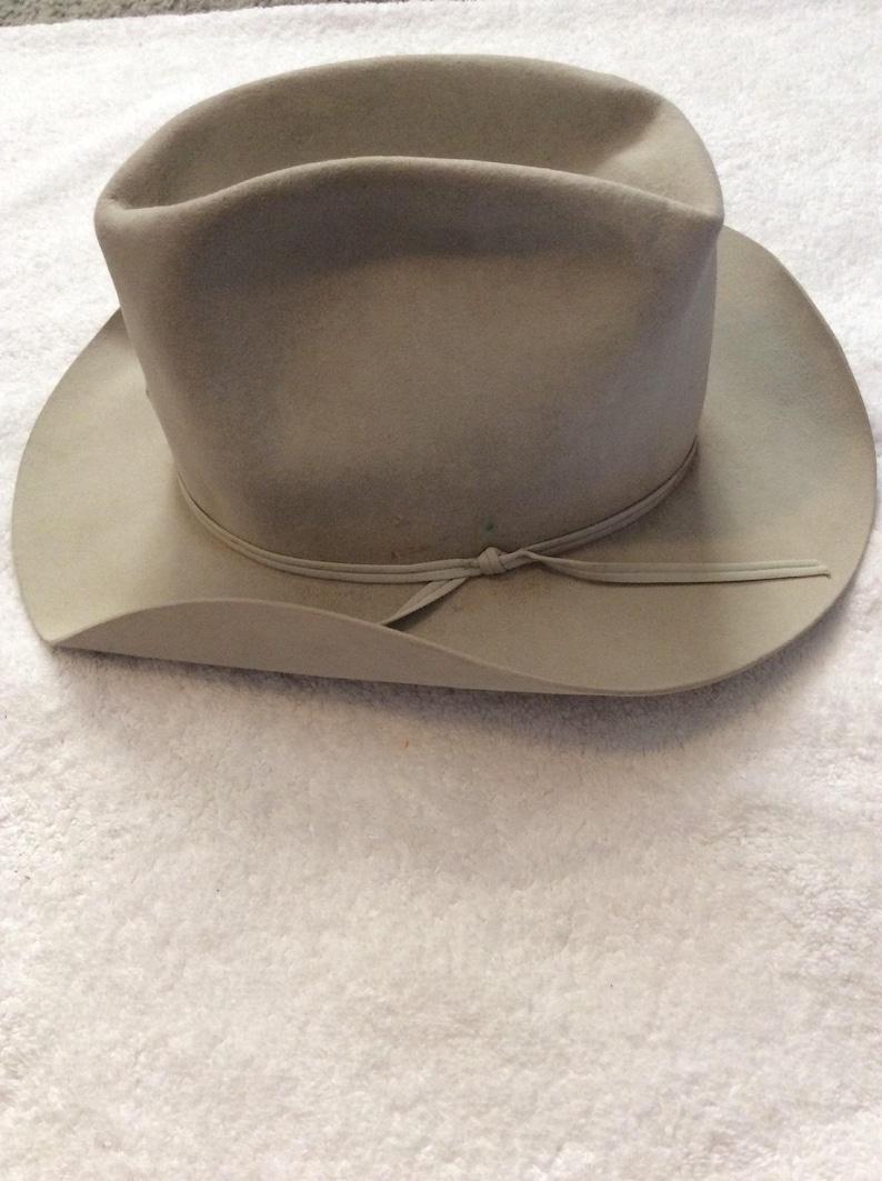 283ef13c8 Vintage Resistol 5X Beaver Cowboy Hat