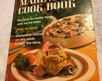 1971 Better Homes and Gardens Make Ahead Cookbook