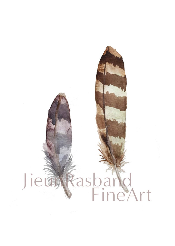 Feathers Instant print printable artprint artnursery image 0