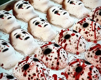 Michael Vs Jason Horror Bath Bombs l Halloween l Scary