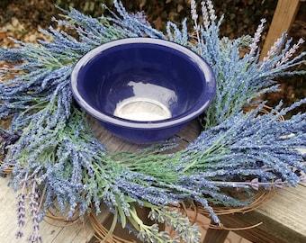 Set of 2, pair of Pyrex Blue Mixing Bowls, nesting bowls, 322, 323, Pyrex Rainbow Collection,Pyrex nesting bowl,pyrex mixing bowls