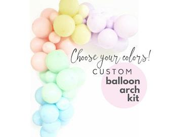 Balloon Garland kit | CUSTOM | DIY Balloon Arch | Choose your colors