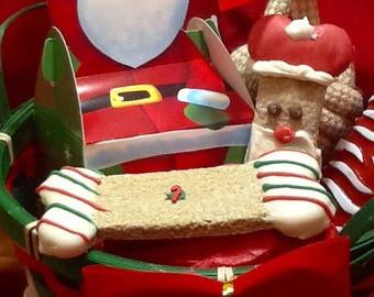 Christmas Dog Treats - Christmas -Dog Gift Basket