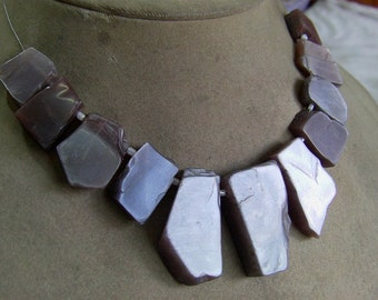 """Reserved Caryn  1 Strand  moonstones Rough shape    beads  10""""  76, grams 14X16 21X38 MM"""