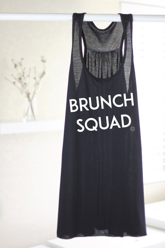 65c60d27d9 BRUNCH TANK TOP Brunch Squad Funny Brunch Tank   Etsy