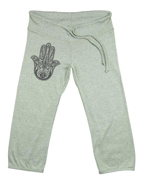 9a834467b9 Yoga Pants CAPRI PANTS Hamsa Yoga Pants Yoga Capries   Etsy