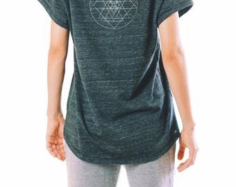 Women's Graphic Tee - Women's Gift - Women's Clothing - Graphic Tee - Graphic T Shirt - Graphic Tees For Women - Flowy Yoga Shirt