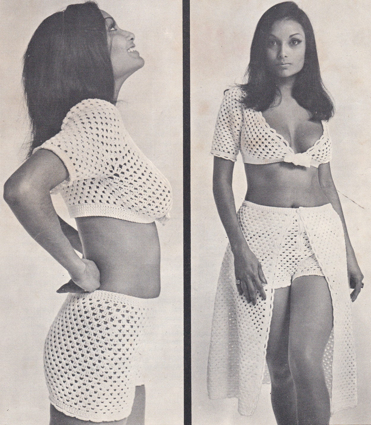Womens hot pants crochet pattern skirt bolero pants shorts pdf ...