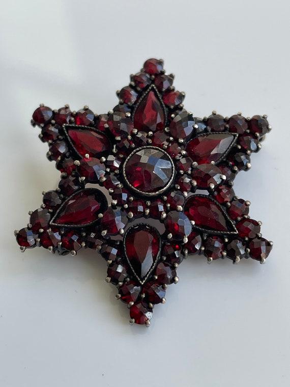 Bohemian Garnet Star