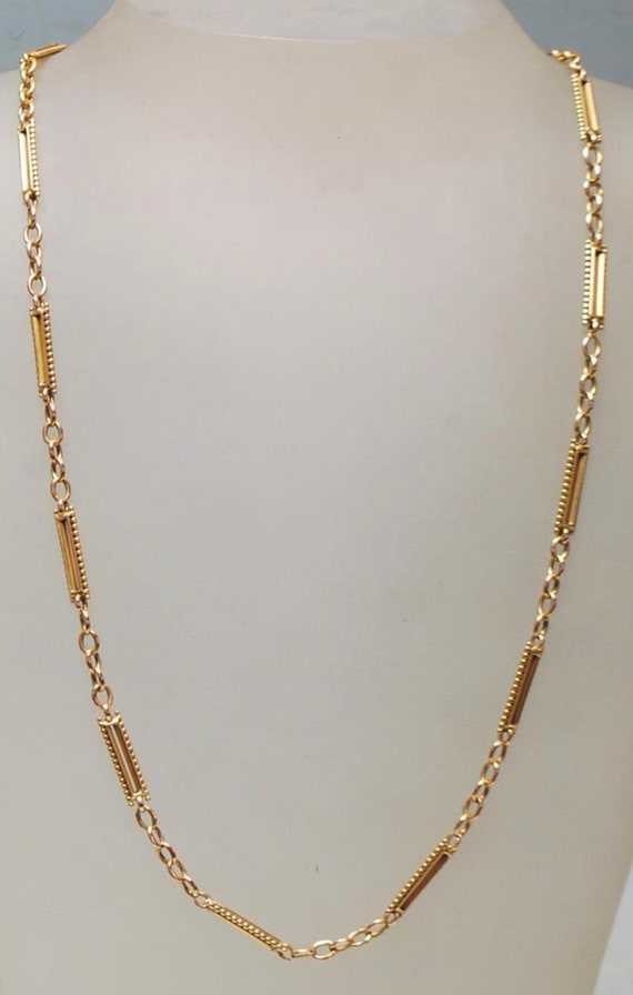 Antique 15ct Gold Victorian Watch Chain