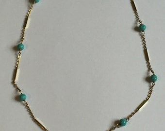 A 14ct Gold Italian Necklace