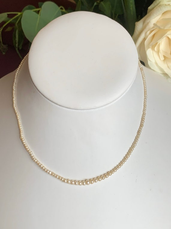 A Natural Pearl Edwardian Necklace
