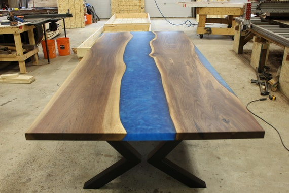 Epoxy River Table New Product Etsy