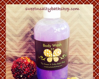 Blackberry Vanilla Moisturizing Body Wash/Shower Gel