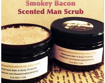 Smokey Bacon Scented Men's Hand & Body Scrub