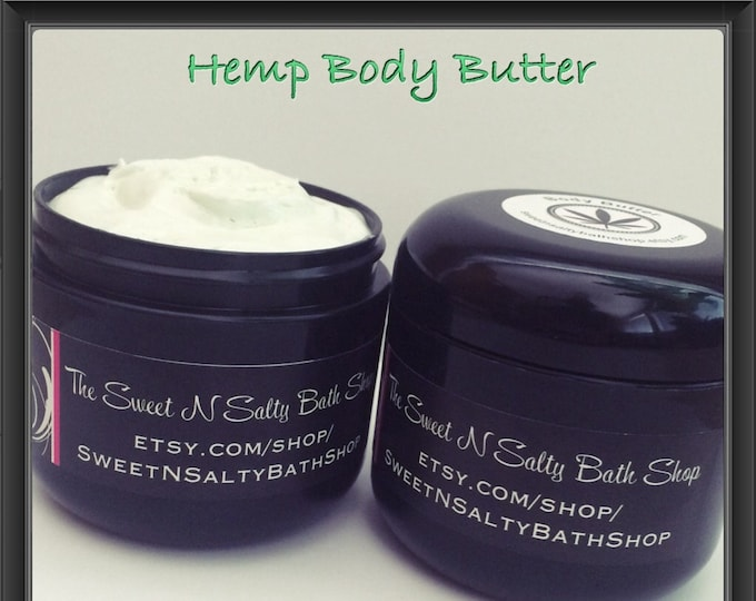 Whipped Hemp Body Butter/Bamboo & Green Tea/Lavender Vanilla/Honey Dew and More!