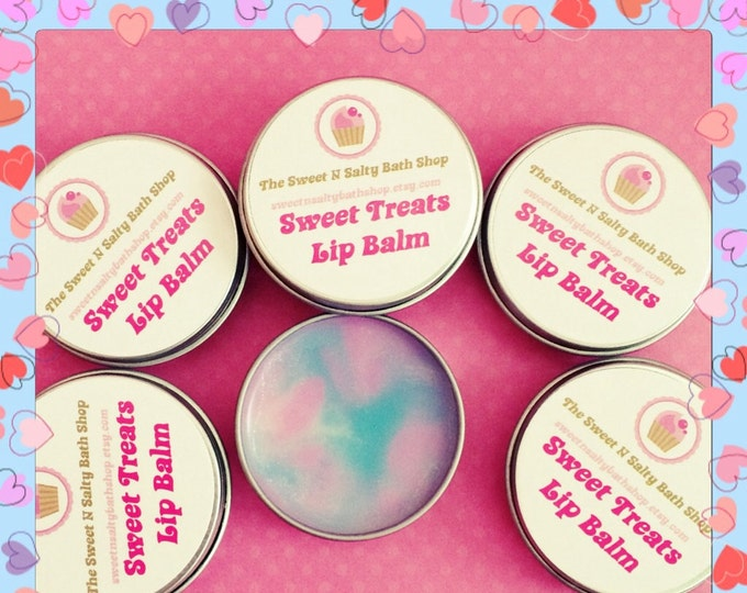 Cotton Candy Sweet Treats Scented Lip Balm/Banana Split/Chocolate Cake/Root Beer Float and More!