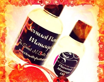 Cinnamon Flavored Massage Oil