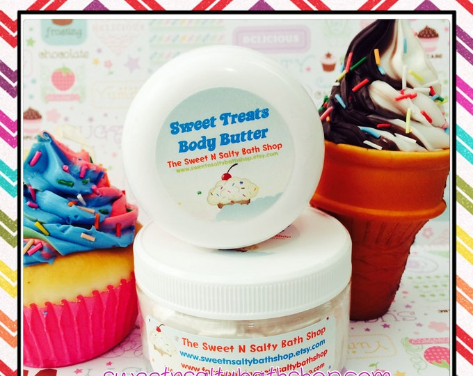 Sweet Treats Whipped Body Butter-Choose From a Variety of Yummy Scents