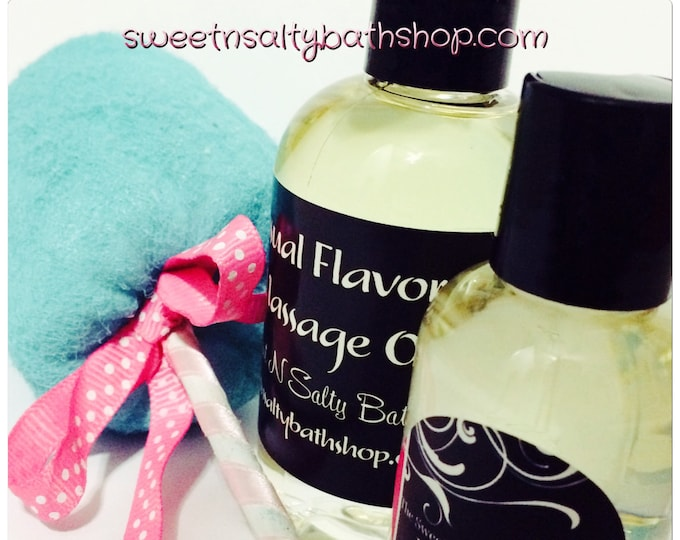 Featured listing image: Cotton Candy Flavored Massage Oil