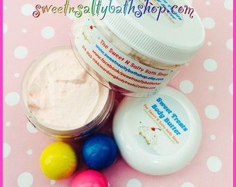 Bubblegum Sweet Treats Whipped Body Butter-More Yummy Scents to Choose From