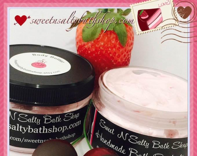Chocolate Covered Strawberry/Cherry Whipped Body Butter