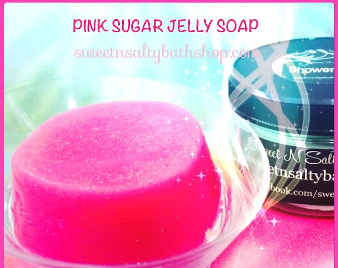 Pink Sugar Shimmering Shower Jelly Soap-More Scents to Choose From!!