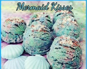 Mermaid Kisses Shimmering Bath Truffles/Fizzies Set of Four