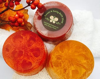 Autumn Scents Hemp & Honey Loofah Soap-Many Scents to Choose From!!